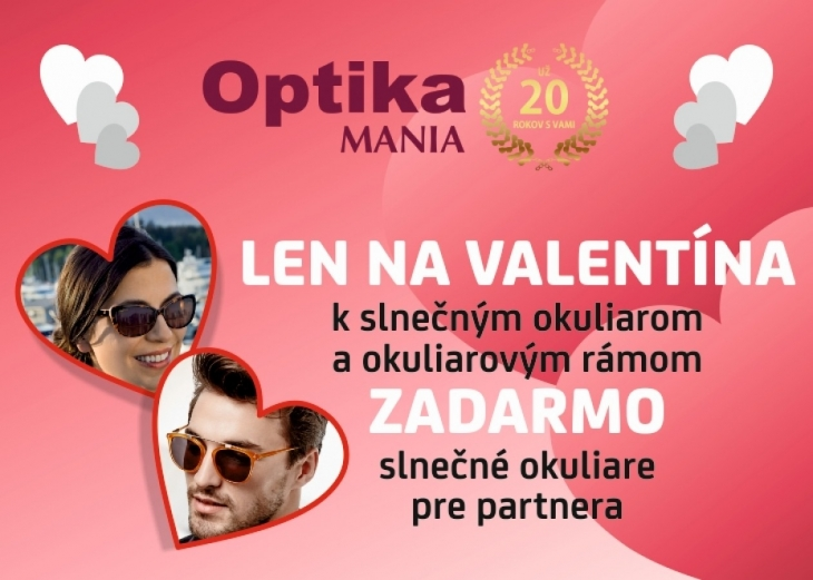 Valentínska akcia s Mania Optic 6f991749eae