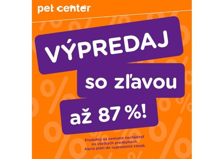 Využite skvelé zľavy až do výšky 87% v predajni PET CENTER 8cc91dc1ef5