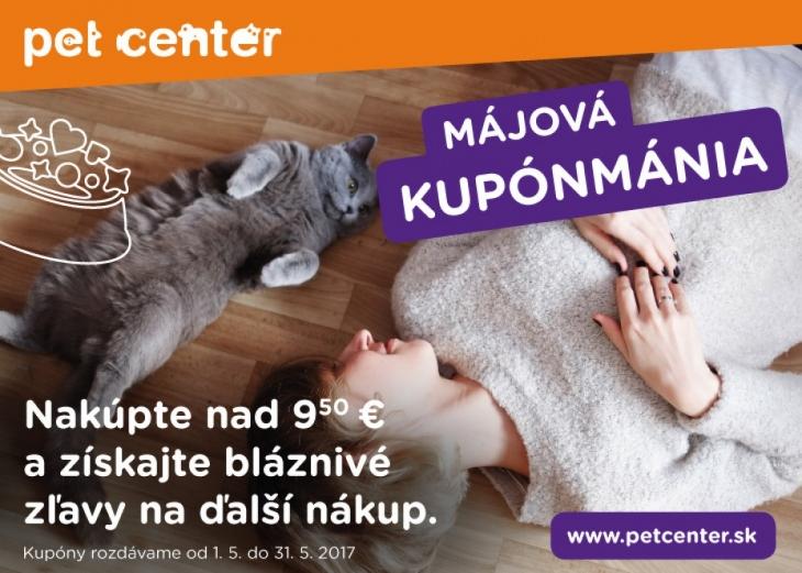 Májová KUPÓNMÁNIA Pet Center 8de370acada