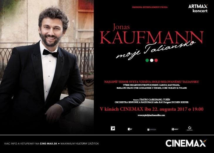 2429a9c62 Jonas Kaufmann v kine CINEMAX TRENČÍ.