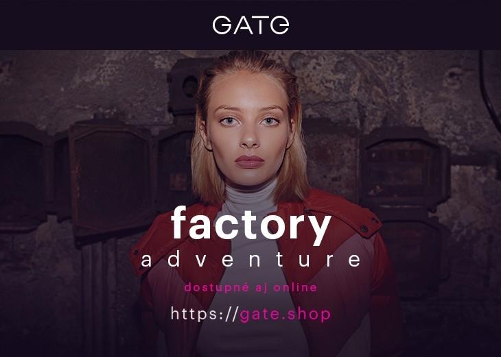 """cb2112c50 Factory adventure"""" objavujte nehostinné prostredie a očarte farebnosťou,  Obchodné a nákupné centrum MAX Trenčín"""