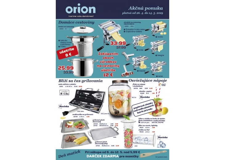 31419331f0 Orion akciový leták