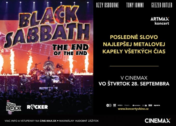 d2e215ffd BLACK SABBATH: THE END OF THE END – ARTMAX KONCERT UŽ 28.09.2017,