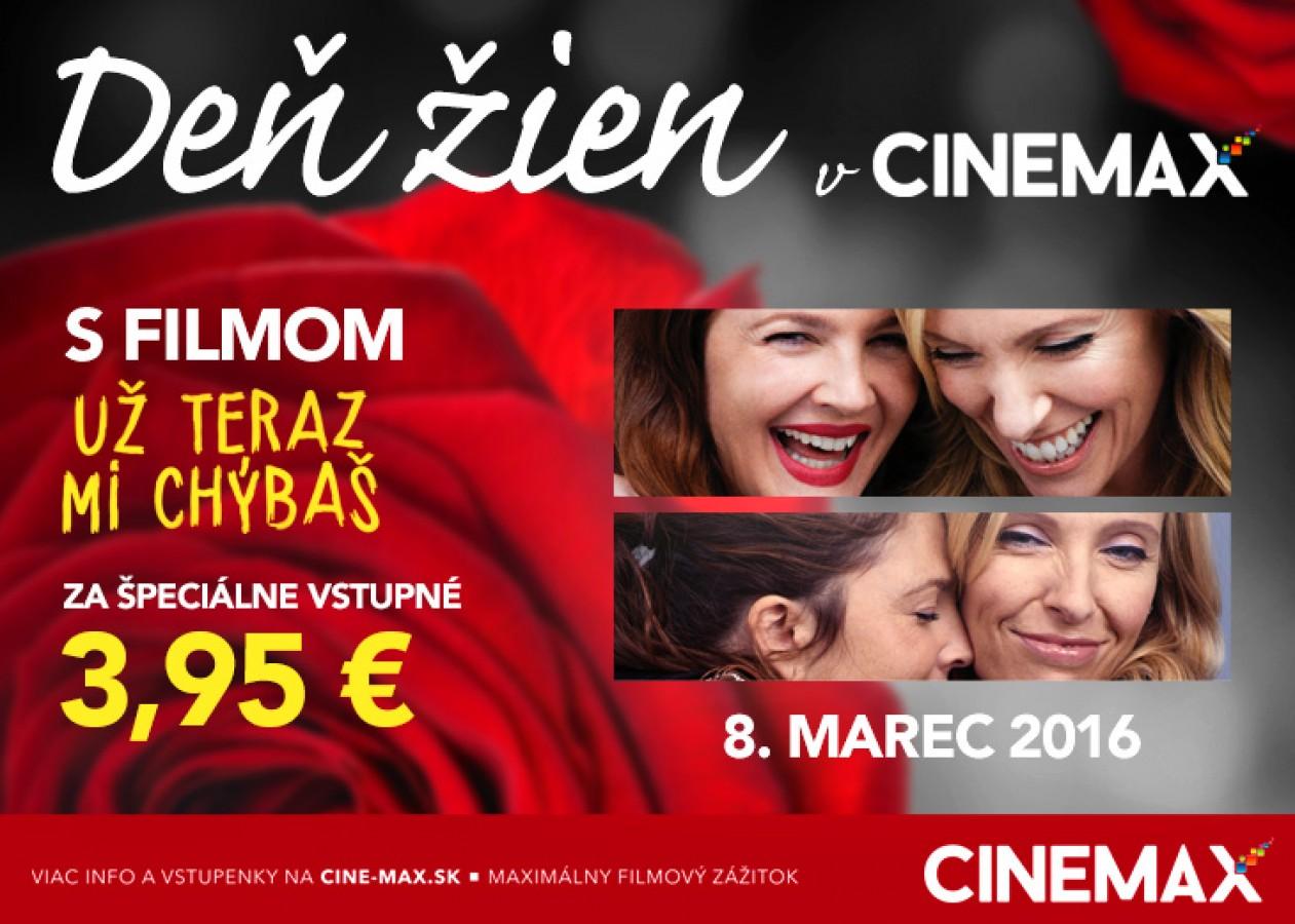 ad78f6aa4 Deň žien v Cinemax-e | Zľavy a akcie v OC MAX Poprad