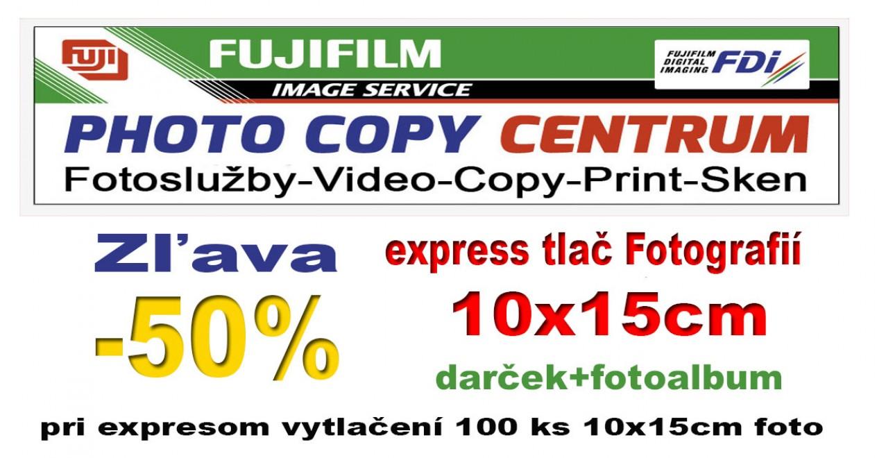 50% zľava na vyvolanie fotografií vo PHOTO COPY Centrum  5e1e32879f9