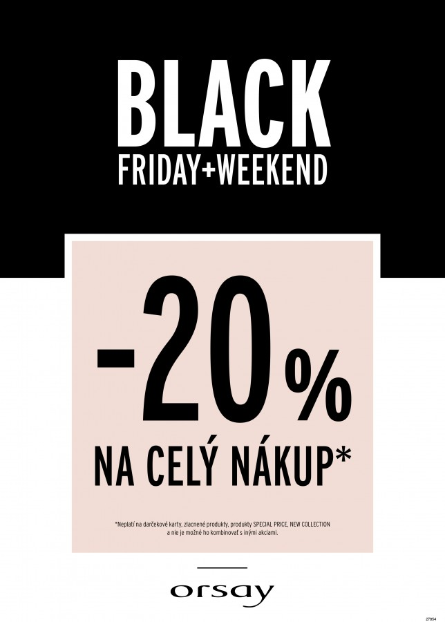 Black Friday Orsay
