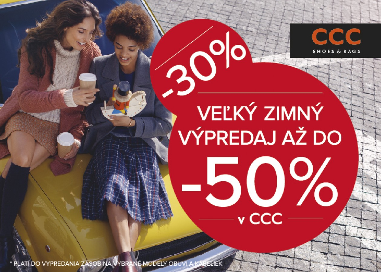 9c2540d885 Začal sa veľký zimný výpredaj v CCC!