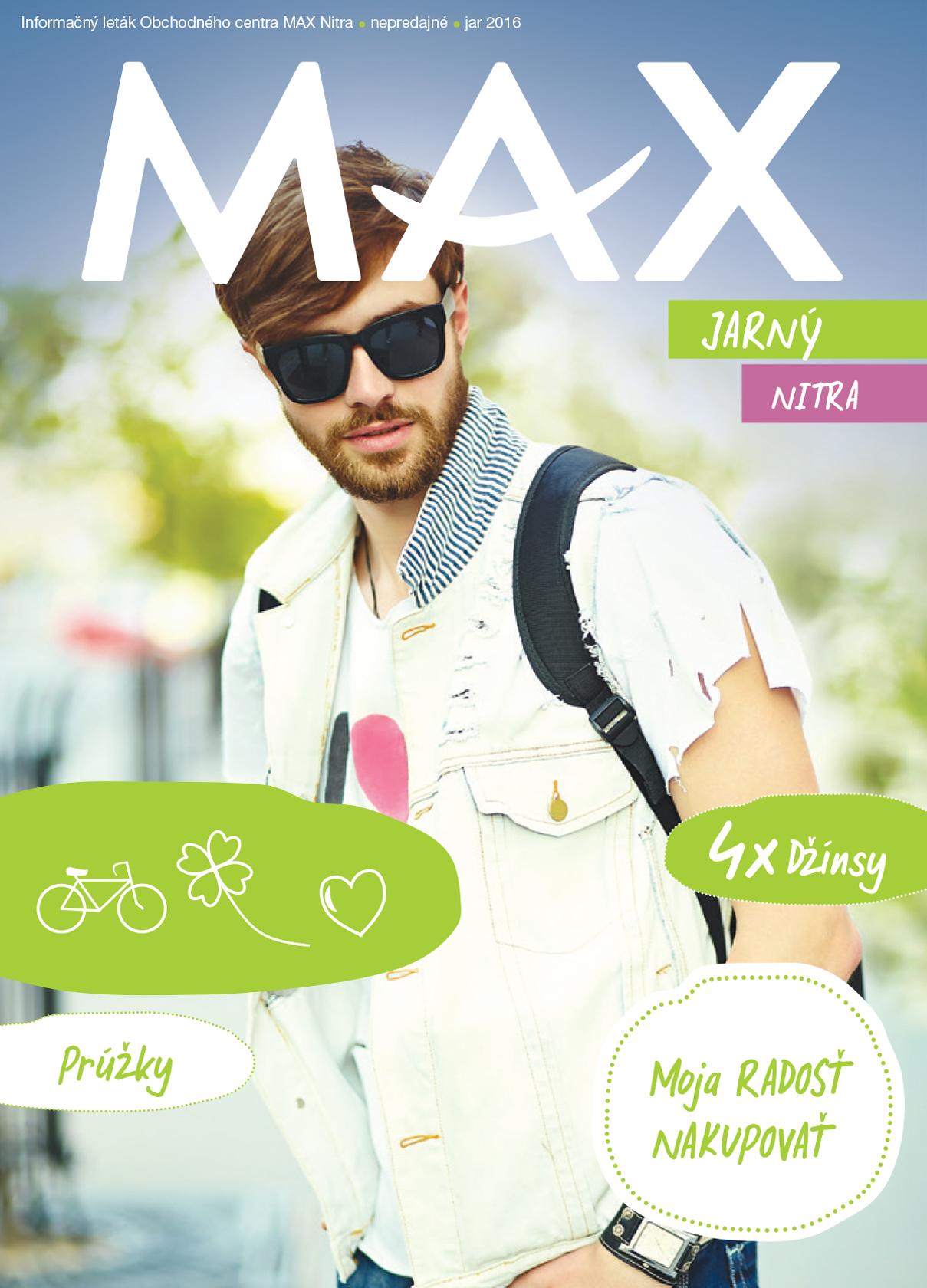 Jarný MAX katalóg v nákupnom centre OC MAX Nitra - fotografia č. 1 ... 9dc67c54080