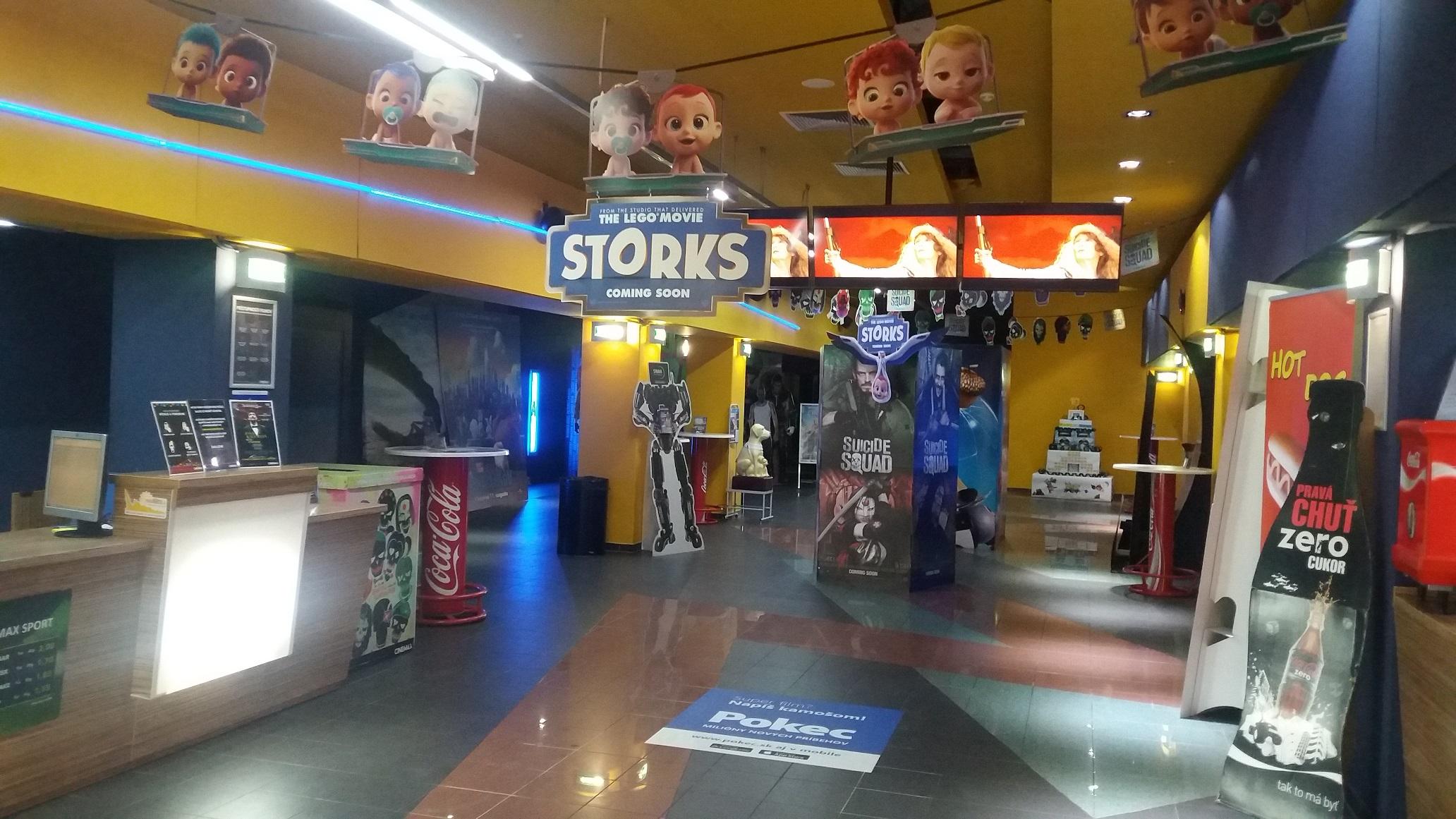 4545f03cb CINEMAX | Obchody | Kino, zábava v OC MAX Nitra