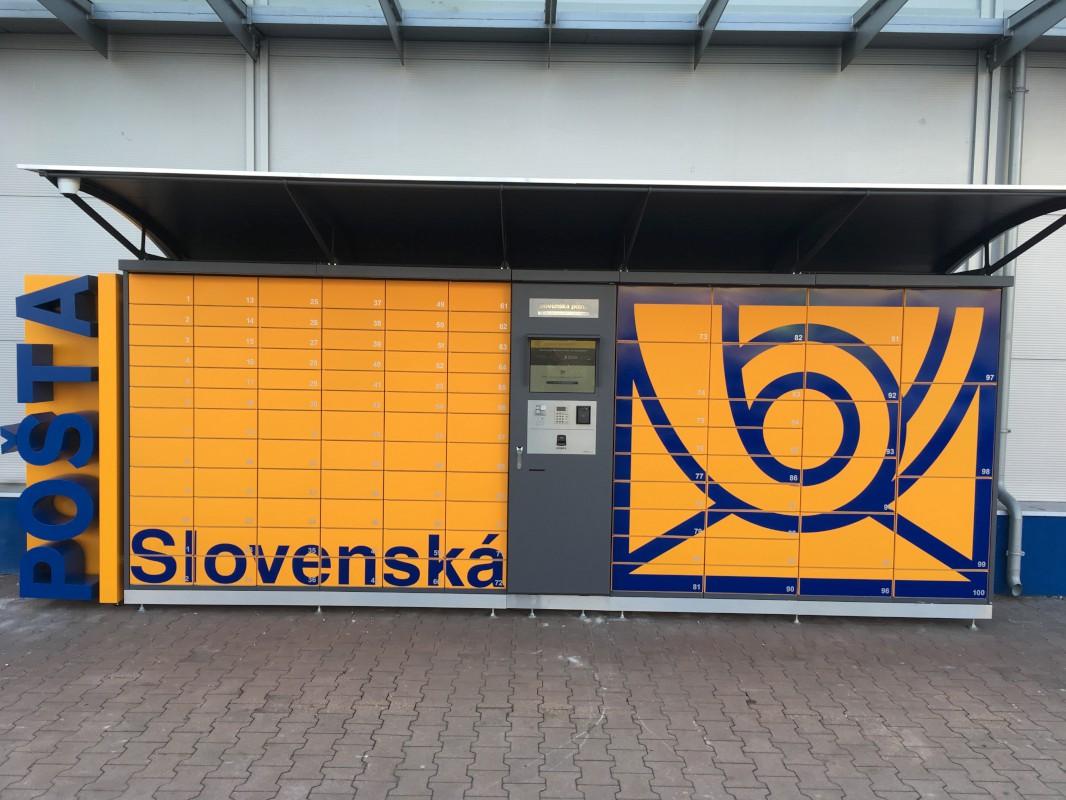 9517c87c2e BALÍKOMAT SLOVENSKÁ POŠTA - fotografia č.