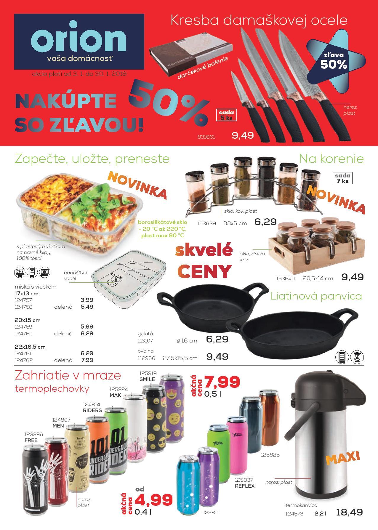 71e5328d3025 Február so skvelými cenami a originálnymi pomocníkmi nie len do kuchyne. -  fotografia č.