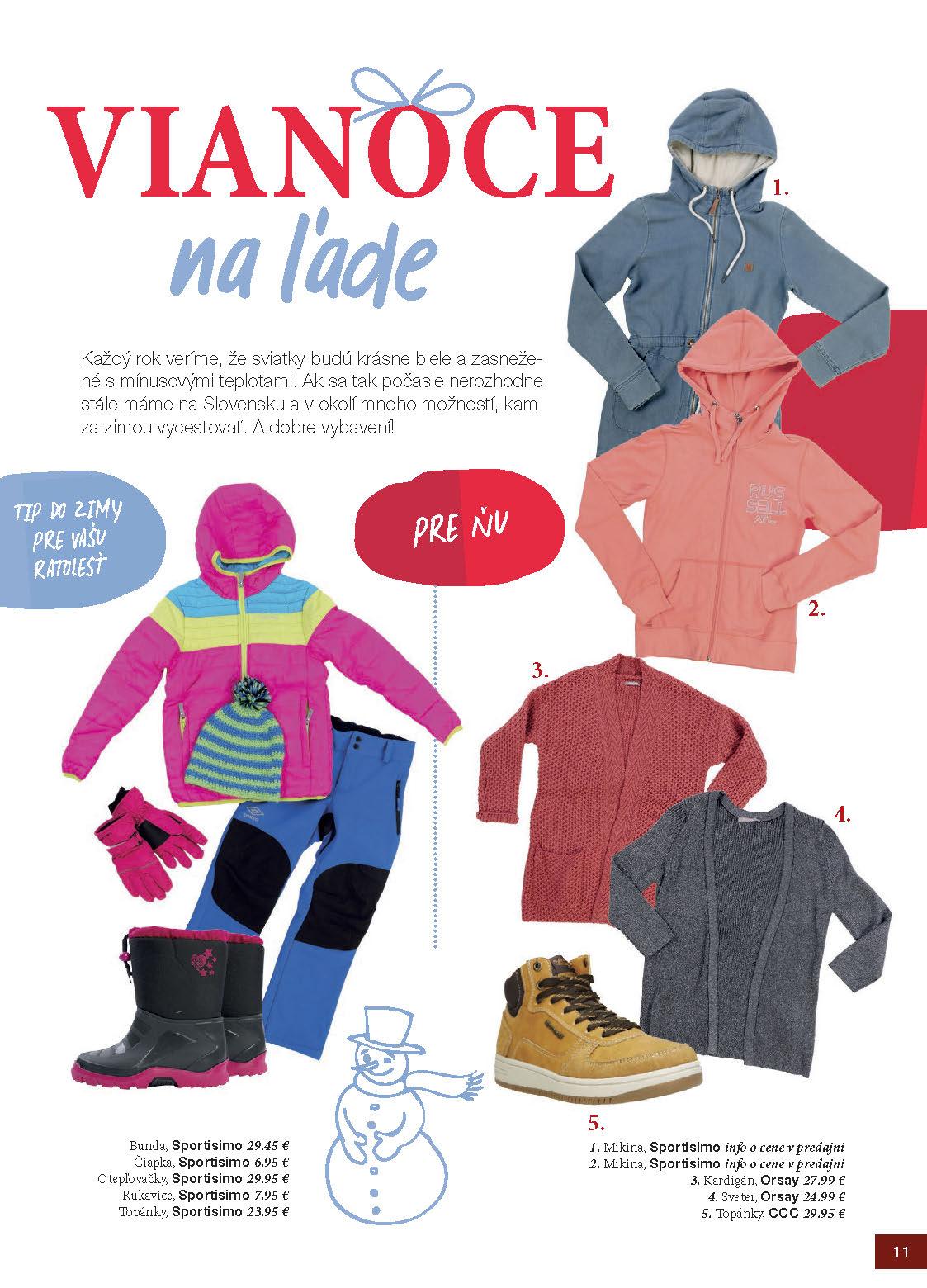 e2eb014d6 1 MAX zima - časopis v nákupnom centre OC MAX Trenčín - fotografia č. 1 ...