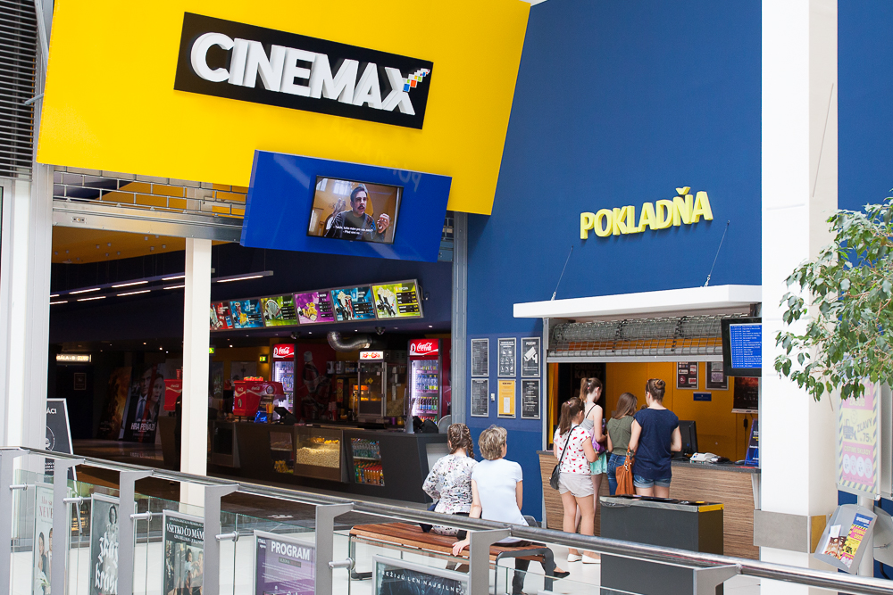 9e1de6485 CINEMAX | Obchody | Kino, zábava v OC MAX Trenčín